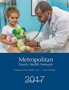 Metropolitan Family Health Network Annual Report 2017