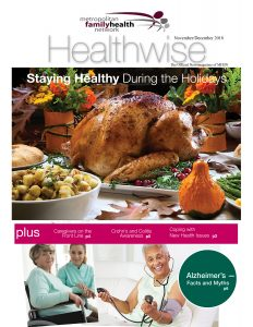 Nov 2018 cover of Healthwise