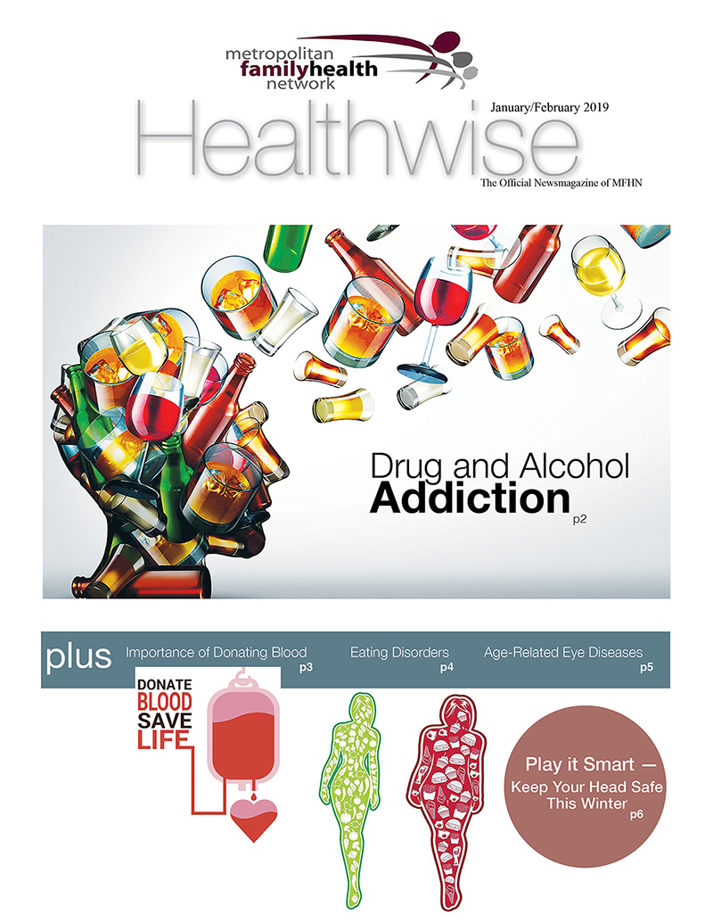 Cover of MFHN Healthwise emagazine Jan 2019